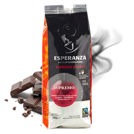 Café Esperanza SUPREMO Fairtrade, en grains 2