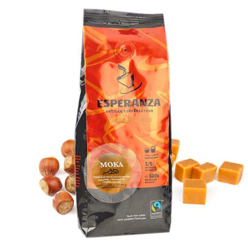 MOKA Esperanza Fairtrade-Kaffeebohnen 2