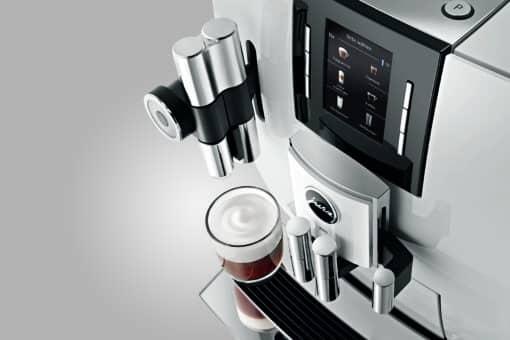 Machine à café J600 Piano White 5