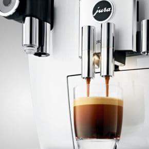 Machine à café J600 Piano White 12