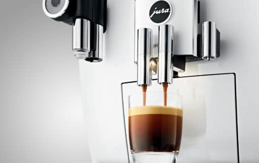 Machine à café J600 Piano White 4
