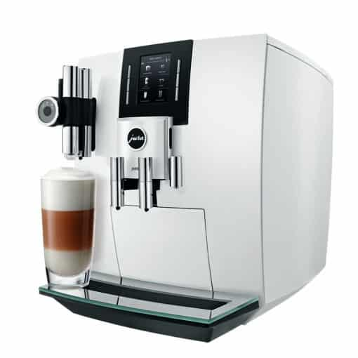 Machine à café J600 Piano White 3