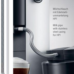 Milchschlauch mit Edelstahlummantelung HP1 7