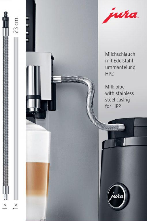 Tuyau de lait à gaine inox HP2 4