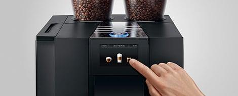 Machine à café GIGA X8 Aluminium Noir 28