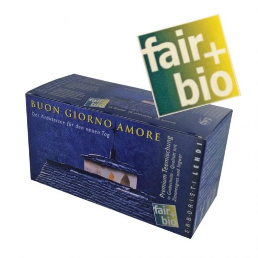 """Thé Fair+Bio Lendi """"Buon Giorno Amore"""", 25 sachets à infuser 3"""