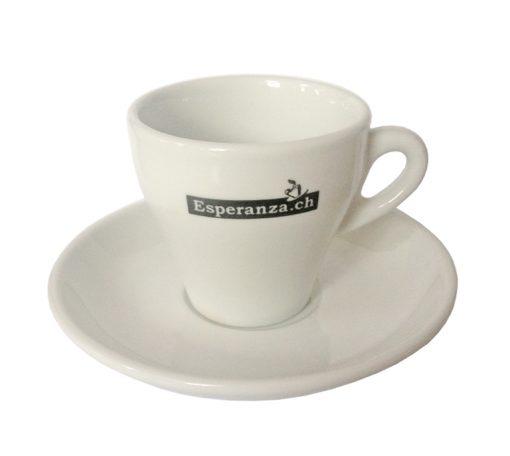 Esperanza Kaffeetassen und Untertassen, 6 Stk. 3