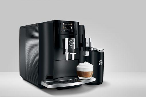 Machine à café E800 Piano Black 13