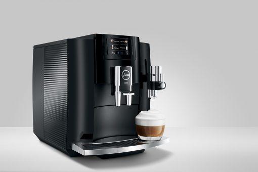 Machine à café E800 Piano Black 14