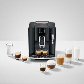 Machine à café E800 Piano Black 28