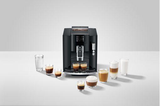 Machine à café E800 Piano Black 15