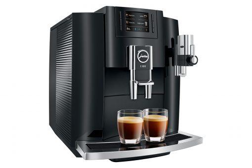 Machine à café E800 Piano Black 6