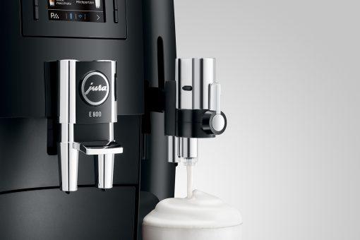 Machine à café E800 Piano Black 10