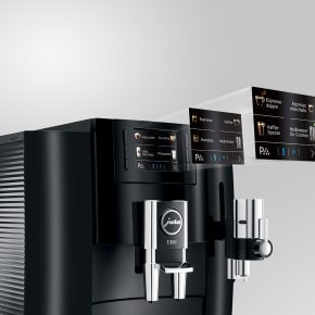 Machine à café E800 Piano Black 24