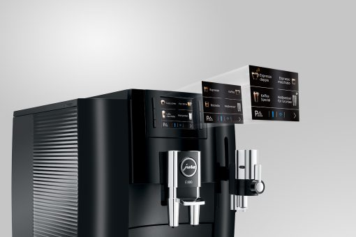 Machine à café E800 Piano Black 11