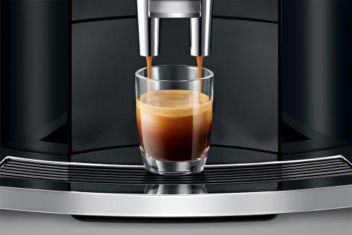 Machine à café E800 Piano Black 12