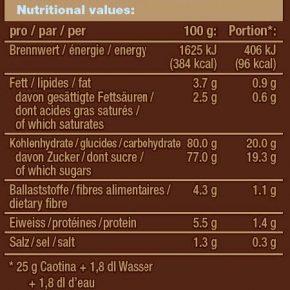 Caotina Schokoladen-Pulver, 100 sticks x 15 g 5