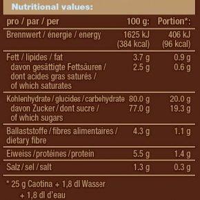 Chocolat en poudre Caotina, 100 sticks x 15 g 5