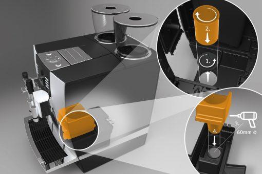 Kaffeesatzabwurf-Set GIGA 3