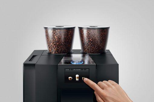 Machine à café GIGA X8 Aluminium Noir 13