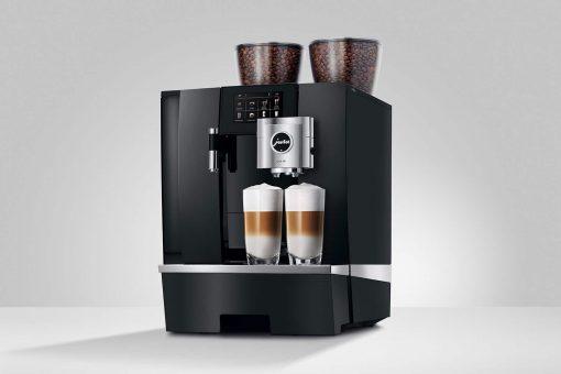 Machine à café GIGA X8 Aluminium Noir 14