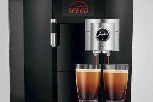 Machine à café GIGA X8 Aluminium Noir 15