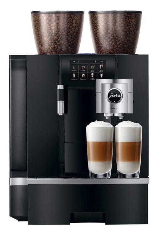 Machine à café GIGA X8 Aluminium Noir 6