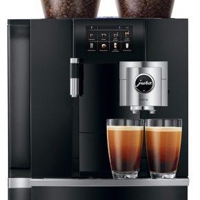 Machine à café GIGA X8 Aluminium Noir 16