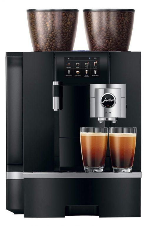 Machine à café GIGA X8 Aluminium Noir 4
