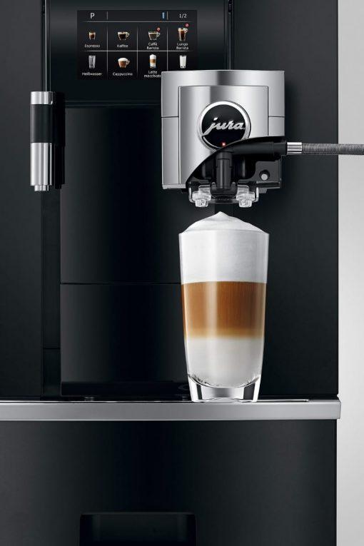 Machine à café GIGA X8 Aluminium Noir 8