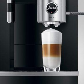 Machine à café GIGA X8 Aluminium Noir 19