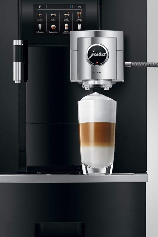 Machine à café GIGA X8 Aluminium Noir 7