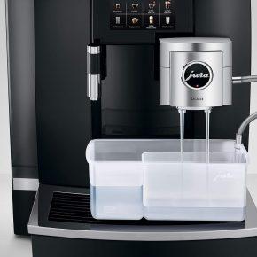 Machine à café GIGA X8 Aluminium Noir 23