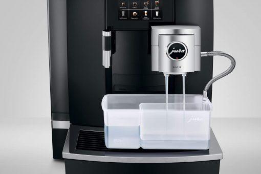 Machine à café GIGA X8 Aluminium Noir 11