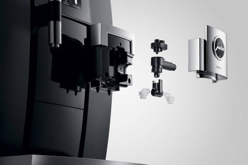 Machine à café GIGA X8 Aluminium Noir 12