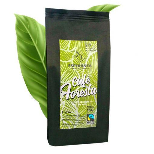 Café Esperanza FORESTA Fairtrade, en grains, 250g 3