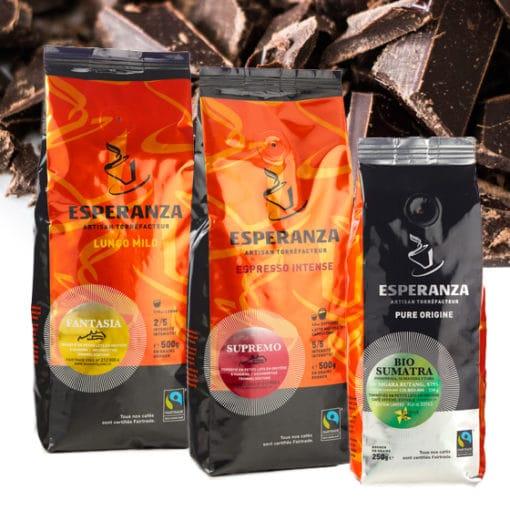 Pack de dégustation LES CHOCOLATÉS Café Esperanza 3
