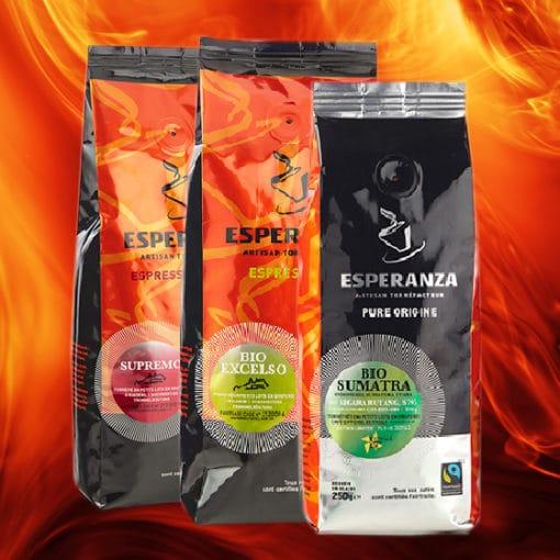 Pack de dégustation LES ELIXIRS Café Esperanza 3