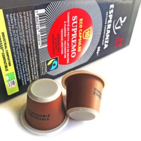 capsule compostable