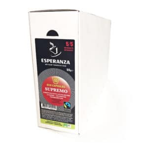 Capsules de Café Compatibles Fairtrade Compostables ESPRESSO Esperanza 3
